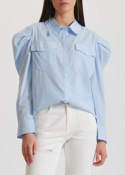 Полосатая рубашка Miss Sixty с объемными рукавами, фото