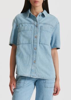 Джинсовая рубашка Miss Sixty с коротким рукавом, фото