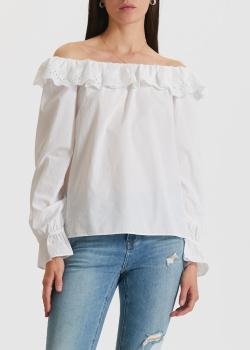Белая блузка Miss Sixty с открытыми плечами, фото