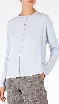 Голубая блузка Riani из шелка, фото