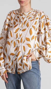 Блузка Dorothee Schumacher с растительным принтом, фото