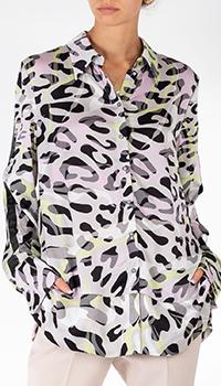Блузка Sportalm с леопардовым принтом, фото