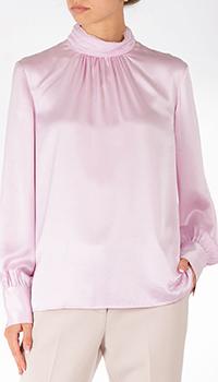 Розовая блузка Sportalm с пышными рукавами, фото