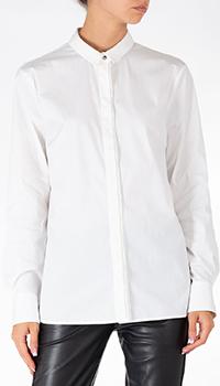 Белая рубашка Peserico с маленьким воротником, фото
