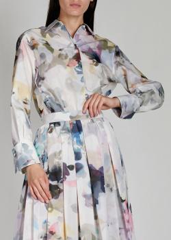 Рубашка прямого кроя Agnona с принтом, фото