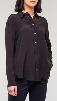 Классическая рубашка Bogner черного цвета, фото