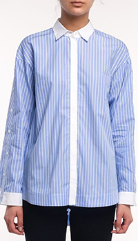 Полосатая рубашка Bogner Mel с удлиненной спиной, фото