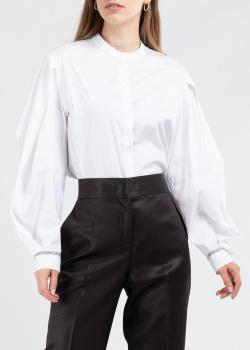Белая блузка Fabiana Filippi с пышными рукавами, фото