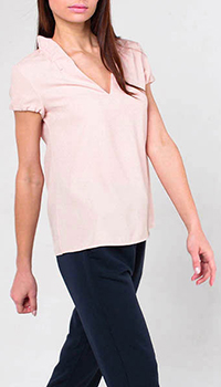 Блуза Emporio Armani на короткий рукав, фото