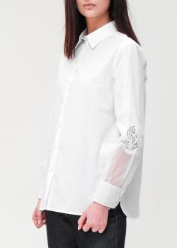 Белая рубашка Ermanno Ermanno Scervino свободного кроя, фото