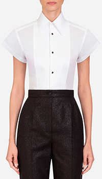 Рубашка Dolce&Gabbana в стиле смокинга, фото