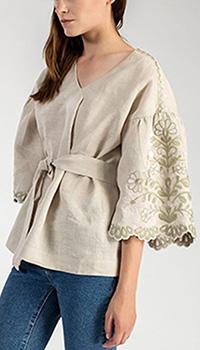Блузка Etnodim Garden с широкими рукавами, фото