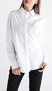 Белая классическая рубашка Kenzo с вышивкой, фото