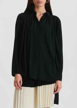 Черная блузка Kenzo с длинным рукавом, фото