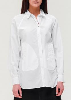 Белая рубашка Kenzo свободного кроя, фото