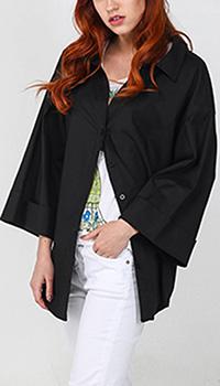 Рубашка Kaos оверсайз черного цвета, фото
