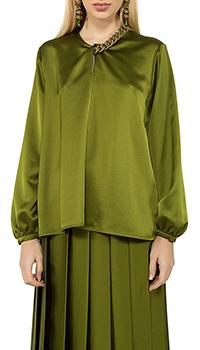 Блузка MSGM цвета хаки, фото