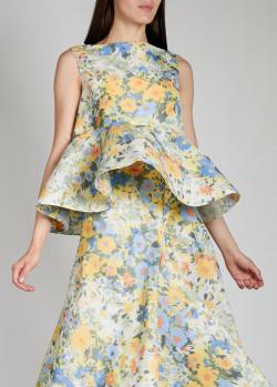 Свободный топ Nina Ricci с цветочным принтом, фото