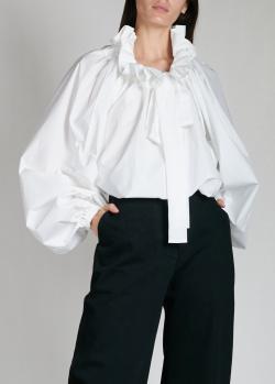 Блузка с бантом Patou белого цвета, фото