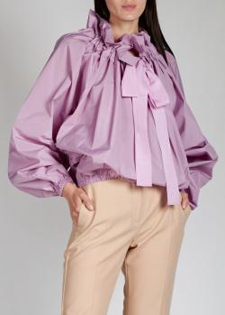 Розовая блузка Patou с рюшами, фото
