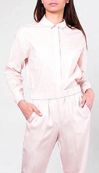 Классическая рубашка Peserico розового цвета, фото