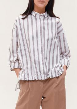Рубашка в полоску Peserico свободного кроя, фото