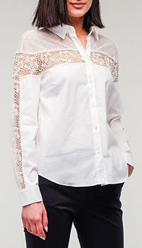 Рубашка на пуговицах Red Valentino белая, фото