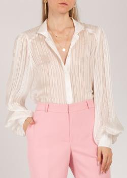 Шелковая блузка Iva Nerolli в полоску, фото