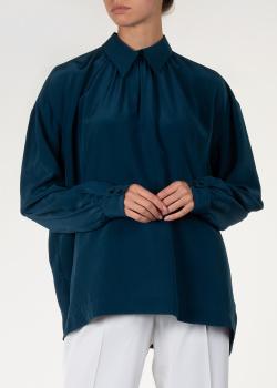Блуза из шелка Rochas с длинным рукавом, фото