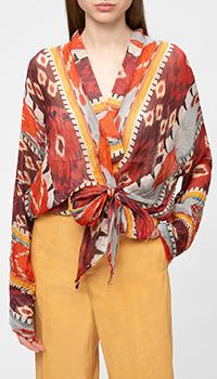 Блузка Forte Forte из льна и шелка, фото