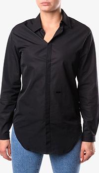 Черная рубашка Dsquared2 приталенного кроя, фото