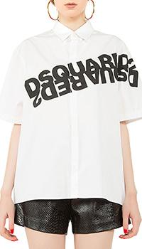 Рубашка Dsquared2 с коротким рукавом, фото