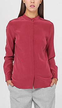 Шелковая блуза Peserico рубашечного кроя, фото