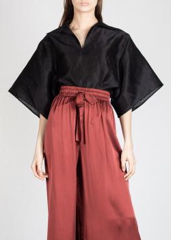 Льняная блузка Toteme с широкими рукавами, фото