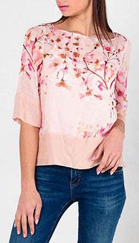 Блуза Twin Set с укороченным рукавом, фото