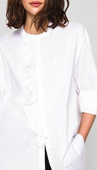 Длинная белая рубашка Twin-Set, фото