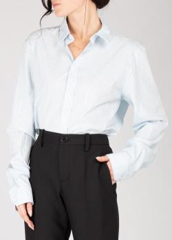 Полосатая рубашка Zadig & Voltaire с надписью на спине, фото