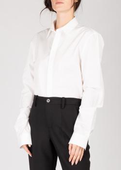 Хлопковая рубашка Zadig & Voltaire белого цвета, фото