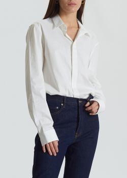 Белая рубашка Zadig & Voltaire с длинным рукавом, фото