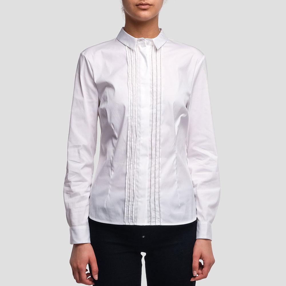 Женская рубашка Peserico белого цвета