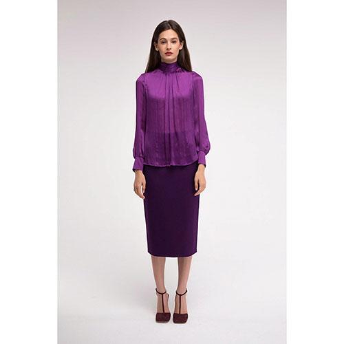 6fa4c747b8f ☆ Шелковая блуза Shako с бантом на спине купить в Киеве