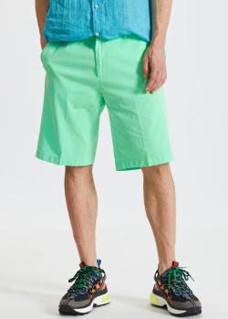 Салатовые шорты Paul&Shark с карманами, фото