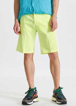 Хлопковые шорты Paul&Shark желтого цвета, фото