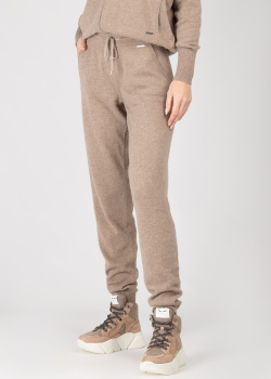 Кашемировые брюки GD Cashmere коричневого цвета, фото