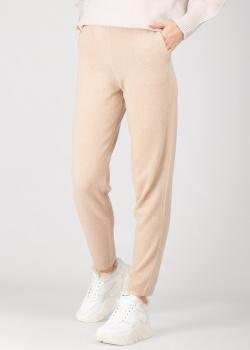 Кашемировые брюки GD Cashmere песочного цвета, фото
