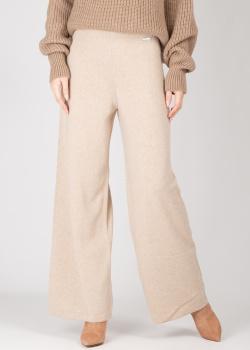 Кашемировые брюки GD Cashmere бежевые, фото