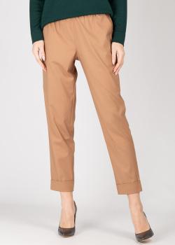 Шерстяные брюки GD Cashmere с отворотами, фото