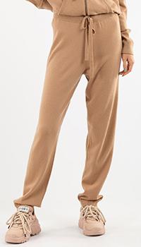 Кашемировые брюки Repeat Cashmere в сером цвете, фото