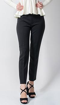 Черные брюки Sandro Ferrone зауженные, фото