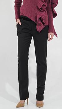Узкие брюки Compagnia Italiana с бархатными вставками, фото